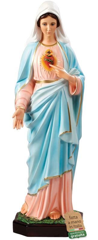 statua Sacro Cuore di Maria per esterni