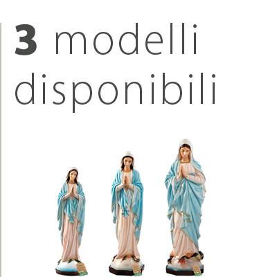 Statua Madonna Miracolosa mani giunte - Catalogo statue