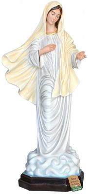 statua Madonna di Medjugorje in vetroresina cm. 130