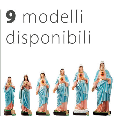 Statua Sacro Cuore di Maria - Catalogo statue