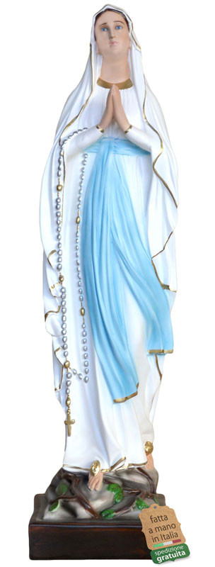 Statua Madonna di Lourdes per grotte
