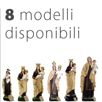 Statua Madonna del Carmine - Catalogo statue
