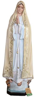 statua Madonna di Fatima in vetroresina cm. 120