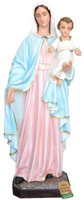 statua Madonna con Bambino in vetroresina cm. 170