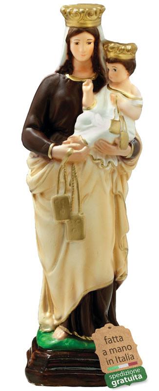 Statua Madonna del Carmine in resina