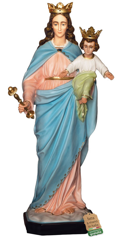 Statua Maria Ausiliatrice per esterni