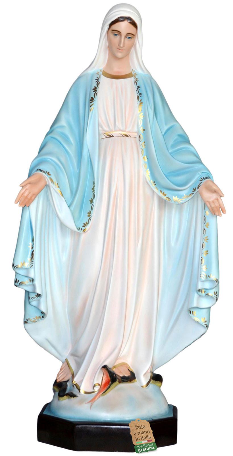 statua Madonna Miracolosa per interni ed esterni