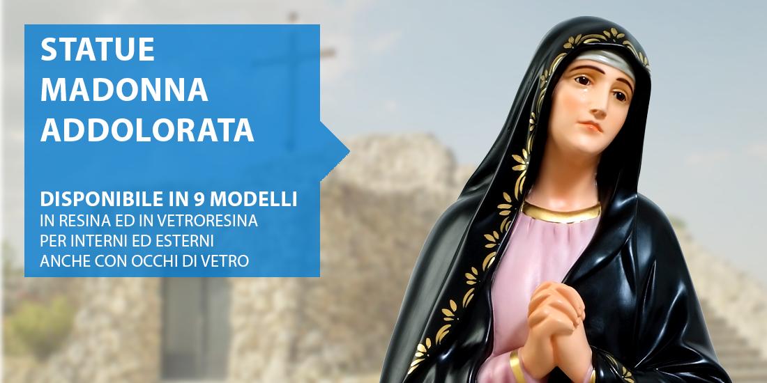 Statue Madonna Addolorata