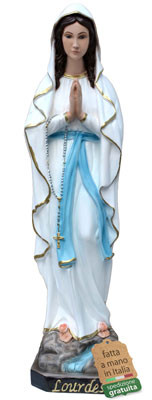 statua Madonna di Lourdes in resina cm. 57