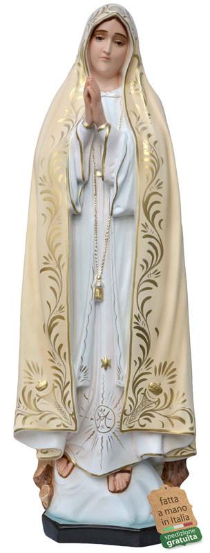 Statua Madonna di Fatima in vetroresina