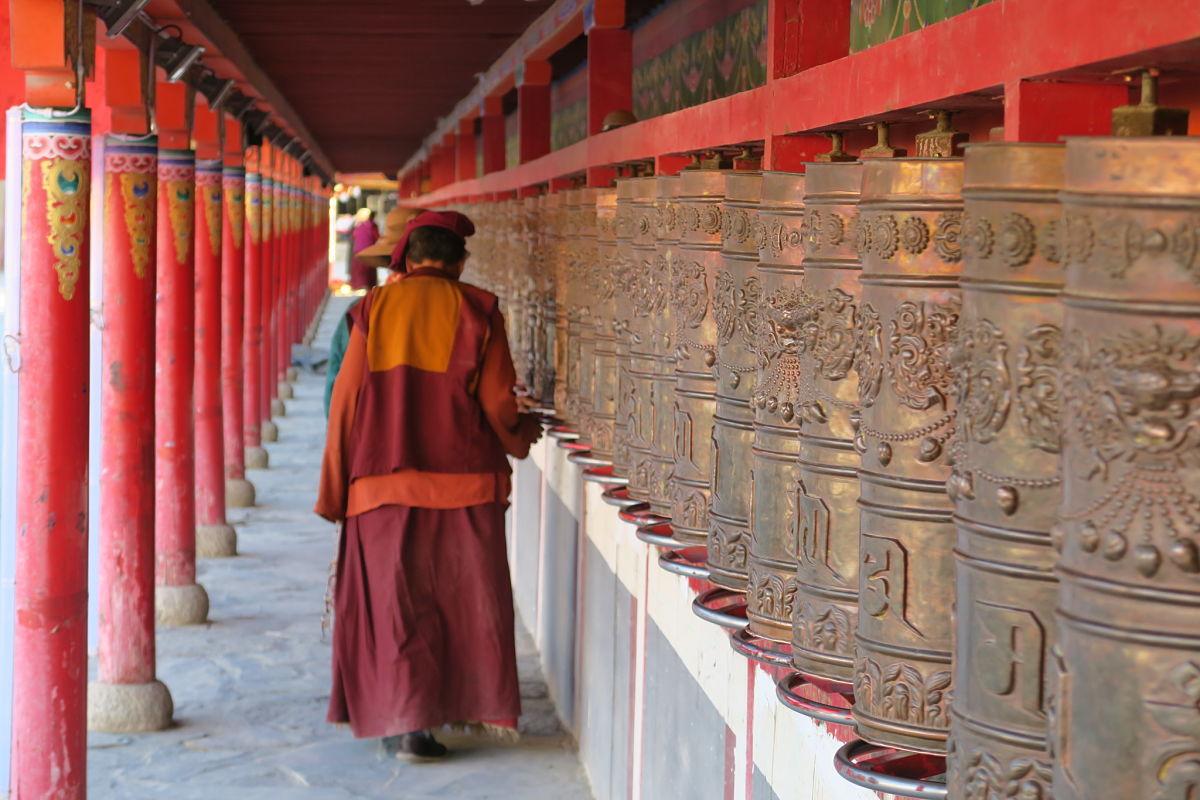 Moulins à prières - Yushu - Qinghai - Chine