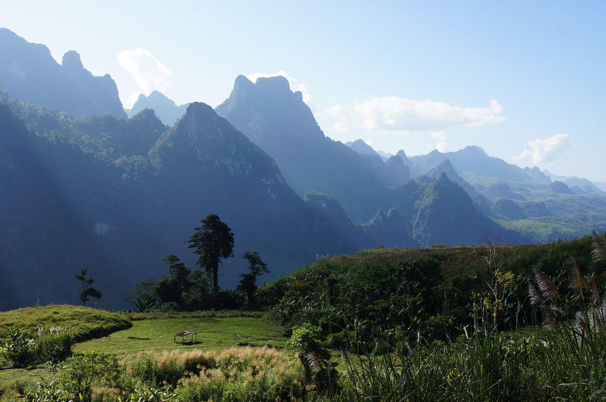 Sur les routes du nord Laos