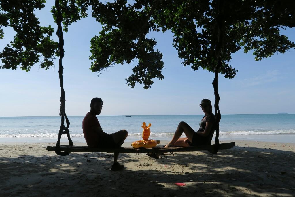 Farniente sur la cote Thaïlandaise