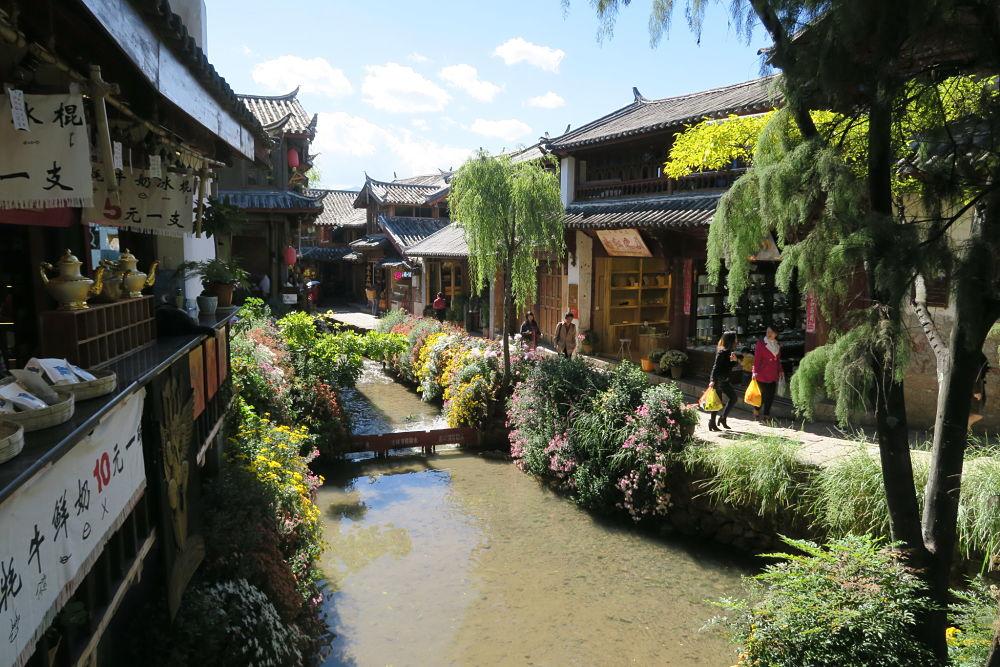 Les canaux de Lijiang - Yunnan - Chine
