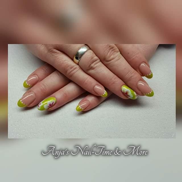 gemalt mit Gel