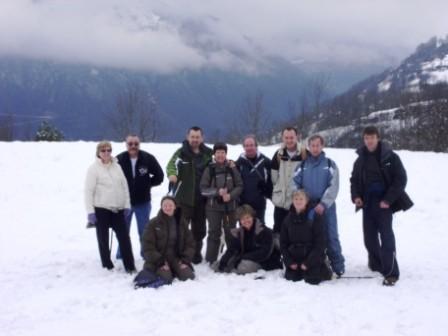 Plateau de Ens, l'équipe de 3M janvier