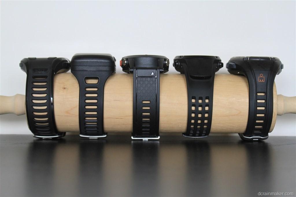Garmin 910xt - Magellan Switch Up - Garmin Fénix - Suunto Ambit - Timex Global Trainer