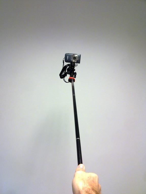 cámara lista para grabar al portador