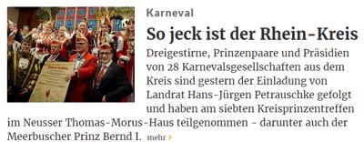 Rheinische Post 26.01.2017