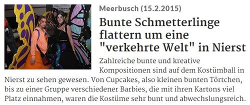 Rheinische Post 15.02.2015