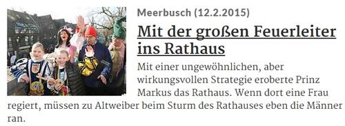 Rheinische Post 12.02.2015