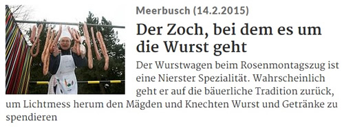 Rheinische Post 14.02.2015