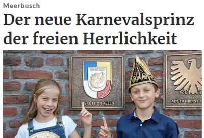 Rheinische Post 07.11.2017