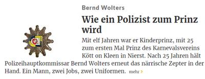 Rheinische Post 21.01.2017