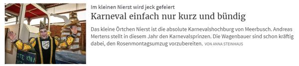Rheinische Post 17.02.2019