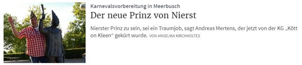 Rheinische Post 15.09.2018