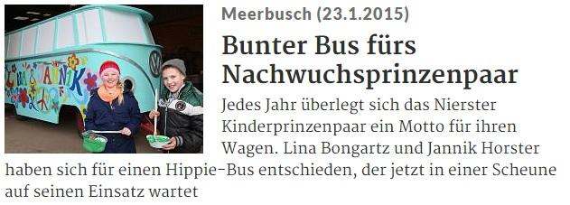 Rheinische Post 23.01.2015