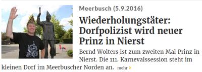 Rheinische Post 05.09.2016