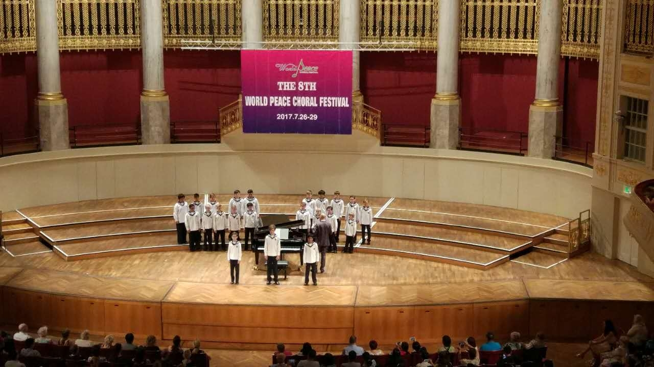 Wiener Sängerknaben, World Peace Choral Festival 2017, Abschlusskonzert im Konzerthaus Wien