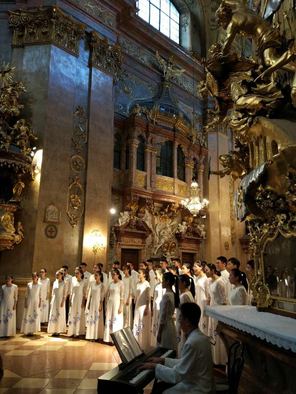 World Peace Choral Festival, Eröffnungskonzert im Petersdom