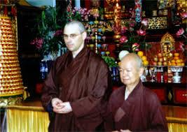 Chuan Zhi Shakya (Mit Fa Hui, dem jetzigen Abt des Tempels auf Hawaii 1997)