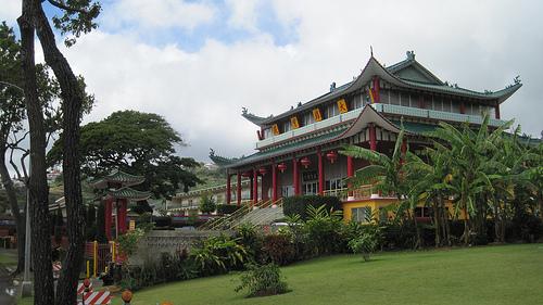 Der Xu Yun Tempel auf Hawaii. - Hier wurde die Idee, Chan im Westen zu verbreiten geboren.