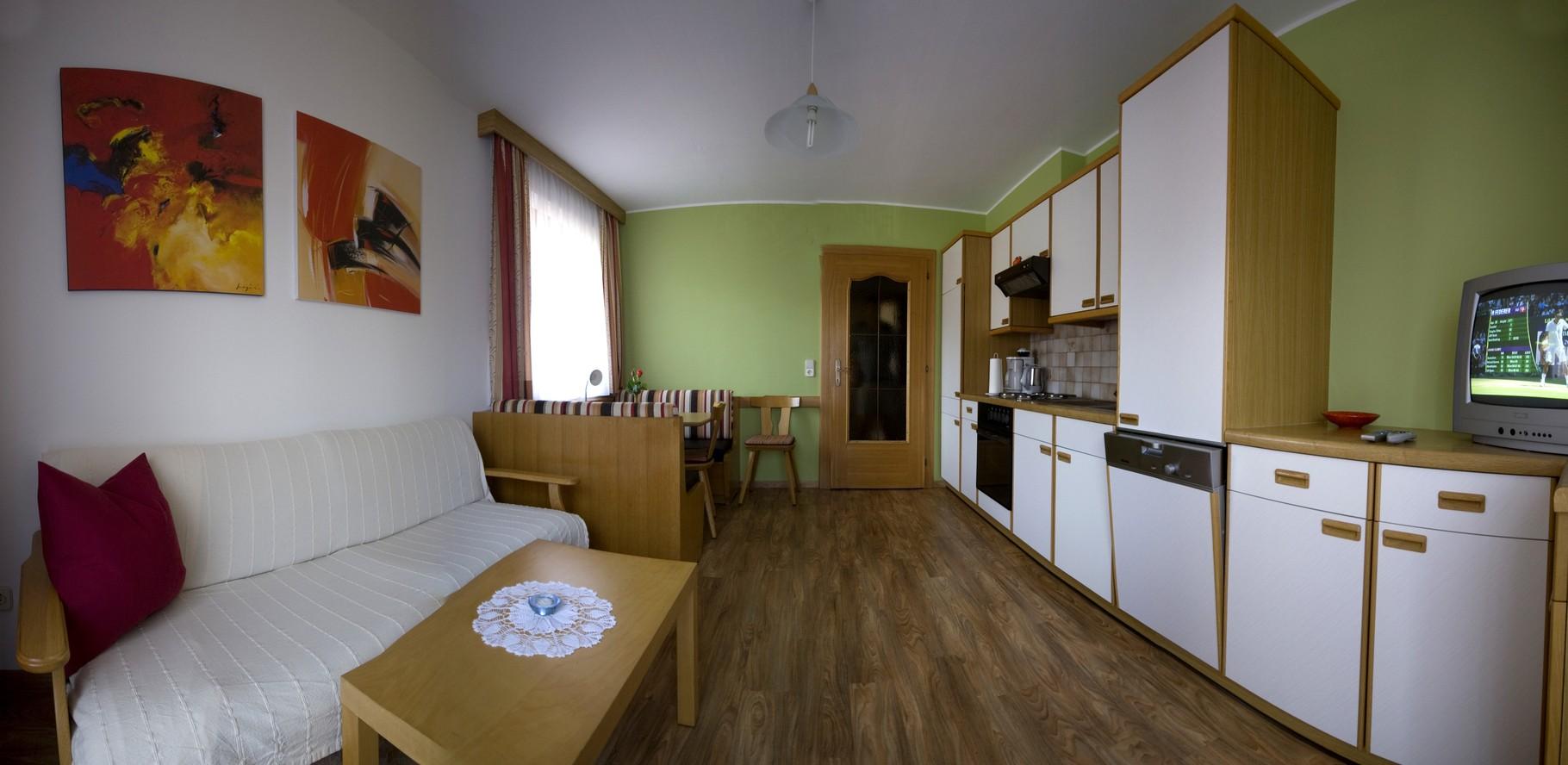 Panorama Ess- und Wohnbereich Typ A