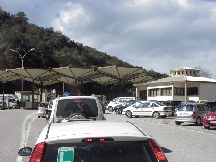 Border Spanien Grenzposten