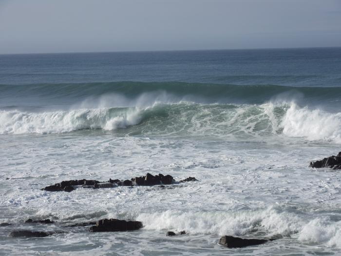 Hohe Wellen Atlantik