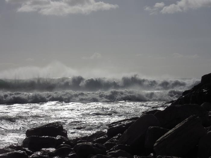 Wellen Atlantik Portugal