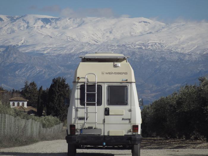 Sierra Nevada Camper Reisen Freiheit