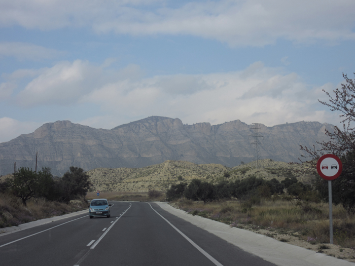 Berge Spanien Landtstraße Mautfrei