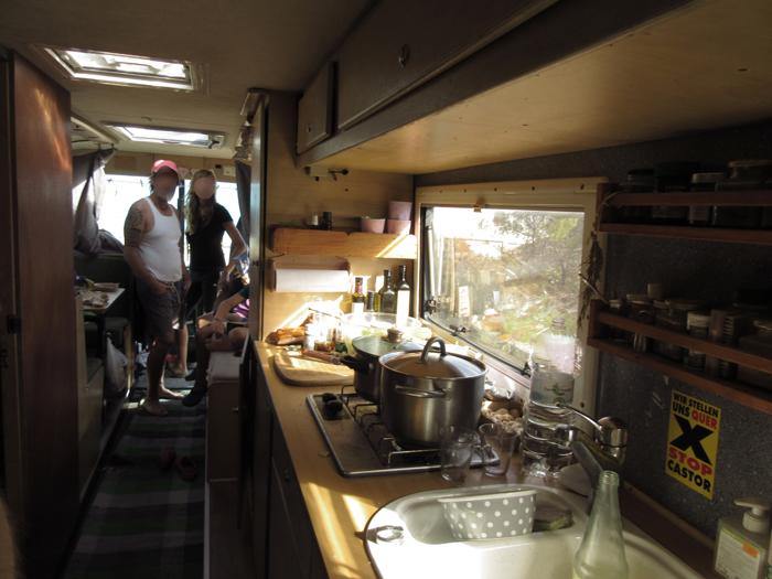 Reisebus Wohnmobil Selbstausbau