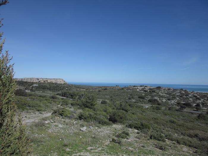 Mittelmeer Frankreich Natur Ausblick frei stehen