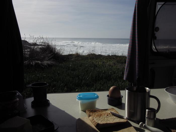 Ein Frühstück mit Ausblick