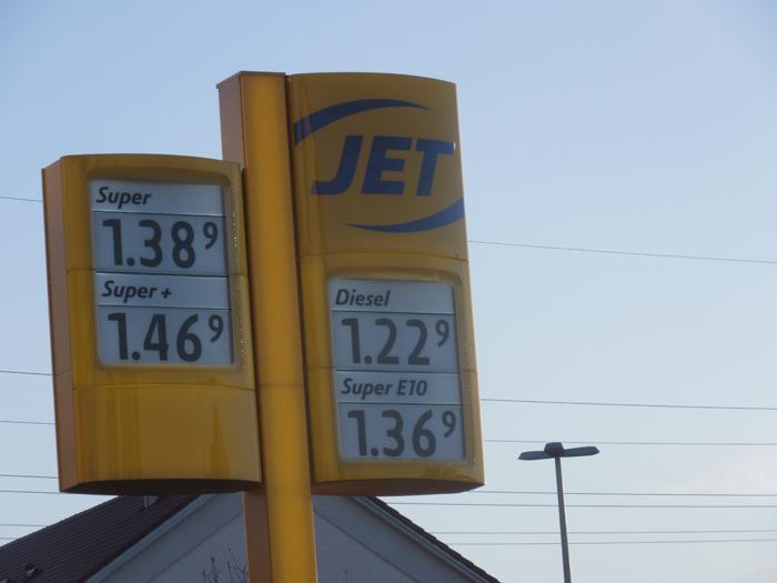 Tankstelle Preise