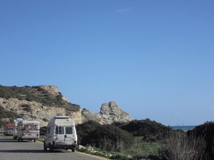 Algarve Strand einsam