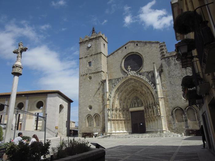 Basilika Santa Maria Kriche Spanien Gothik