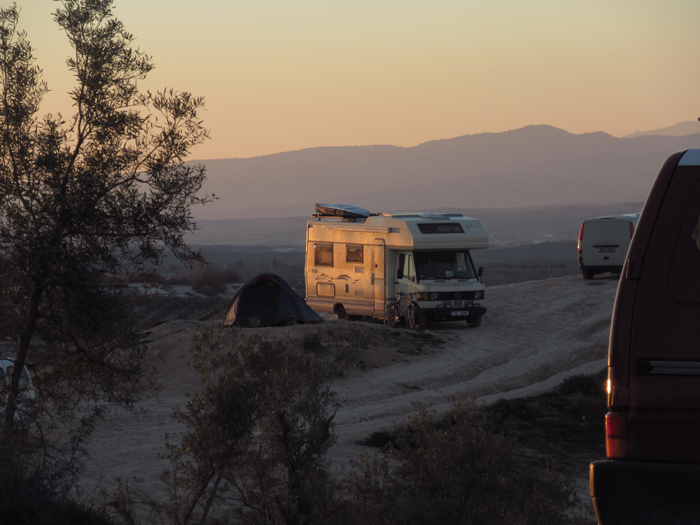 Vanlife Santa Fe Sunset