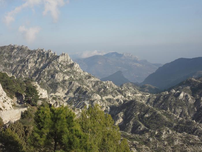 Natur Berge Ausblick Bergformation Massiv